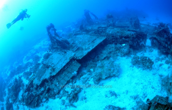 Plane Wreck - Morotai