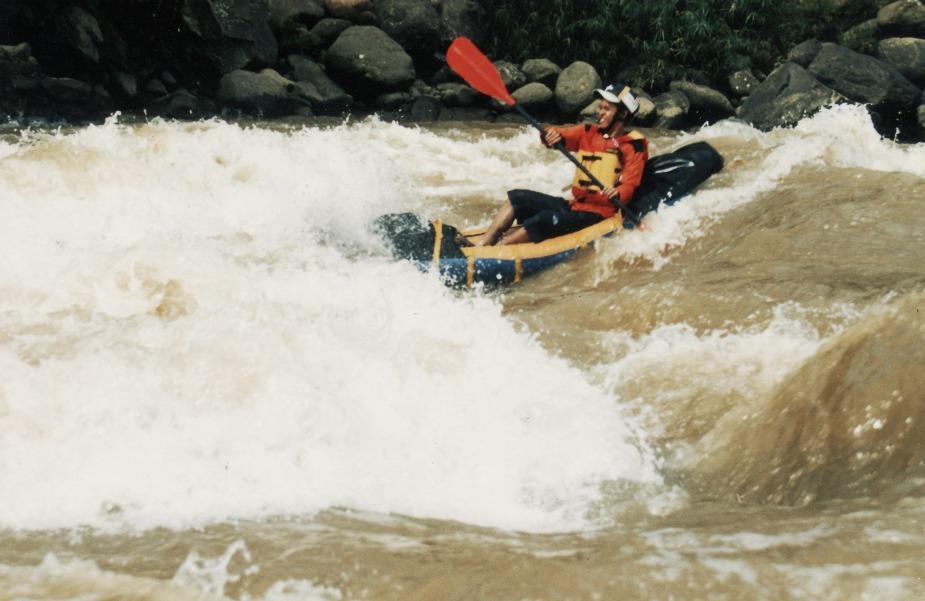 Kayaking serayu