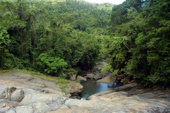 Air terjun Sekongkang, sumber air bersih untuk 3 desa di bawahnya.