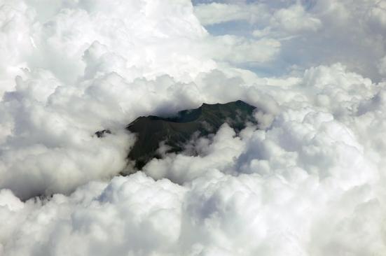 Di antara awan: RINJANI!
