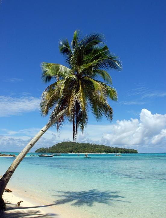 Pulau Kakorotan dari Intata
