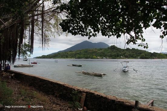 Tempat penyeberangan menuju Pulau Kepa, dimana kami menginap selama seminggu di La Petite Kepa Dive Resost