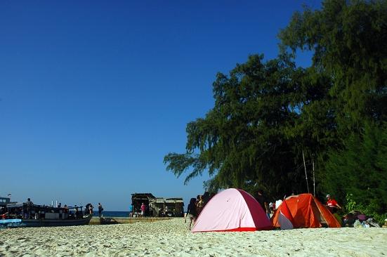 Camping ground Pulau Perak