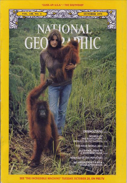 Cover National Geographic, 1975