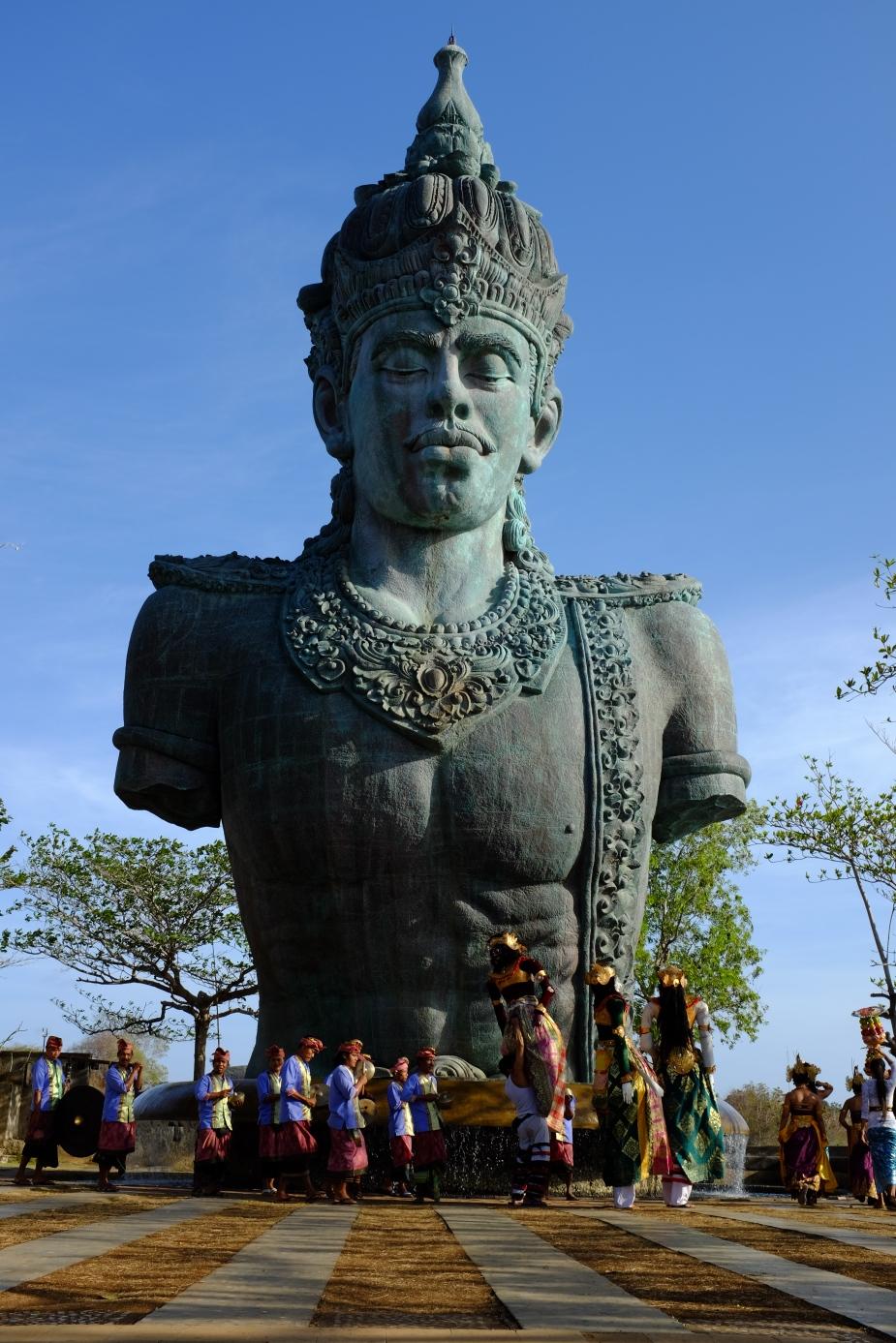 Patung Wisnu, GWK, Bali. Speed 1/140, F/11.0 ISO 200